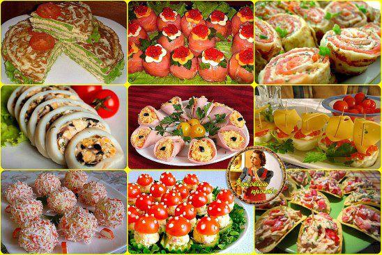 Оригинальные и вкусные блюда