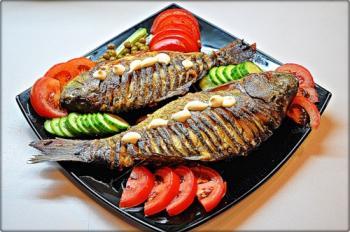 Вкусное блюдо из рыбы