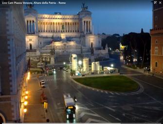 Piazza Venezia, Altare della Patria - Rome . Rome, view of the Vittoriano and Piazza Venezia