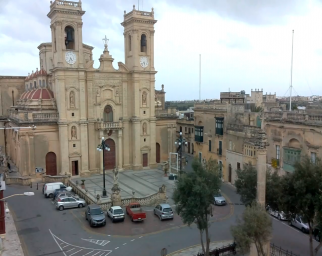 Żebbuġ - St.Philip Church . View of St.Philip Church in Żebbuġ