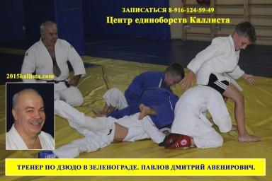 Школа дзюдо в Зеленограде под руководством Павлова Дмитрия Авенировича.